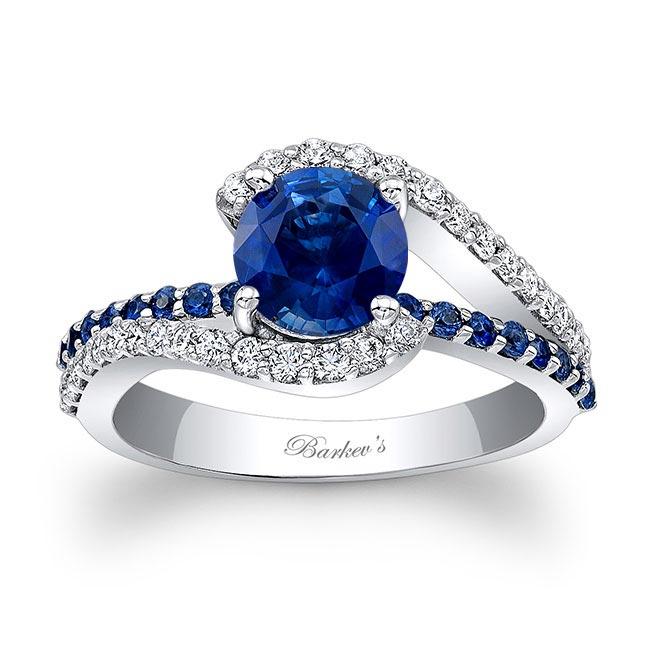 1 Carat Sapphire Ring