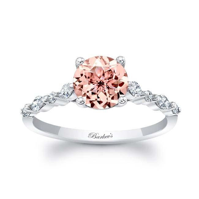 Marquise Morganite Ring