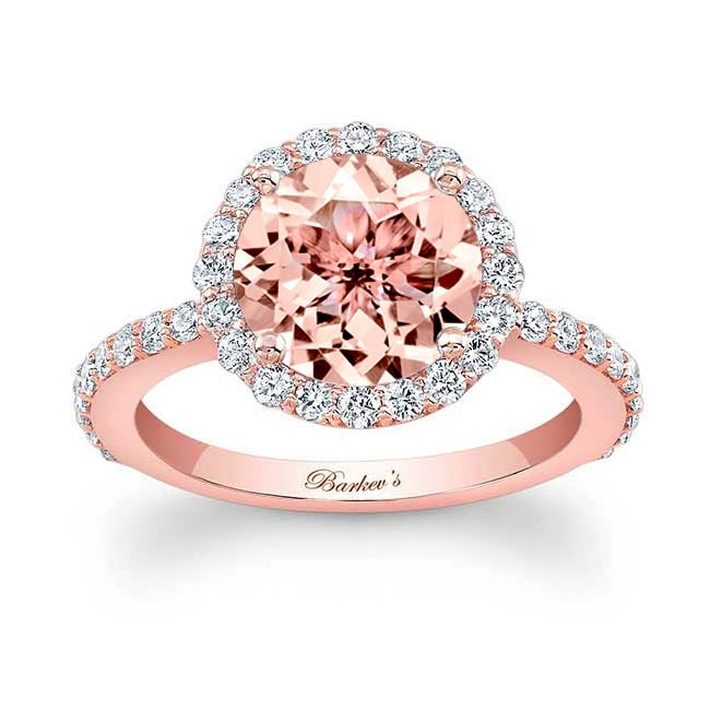 Morganite Engagement Ring MOC-7839L Image 1