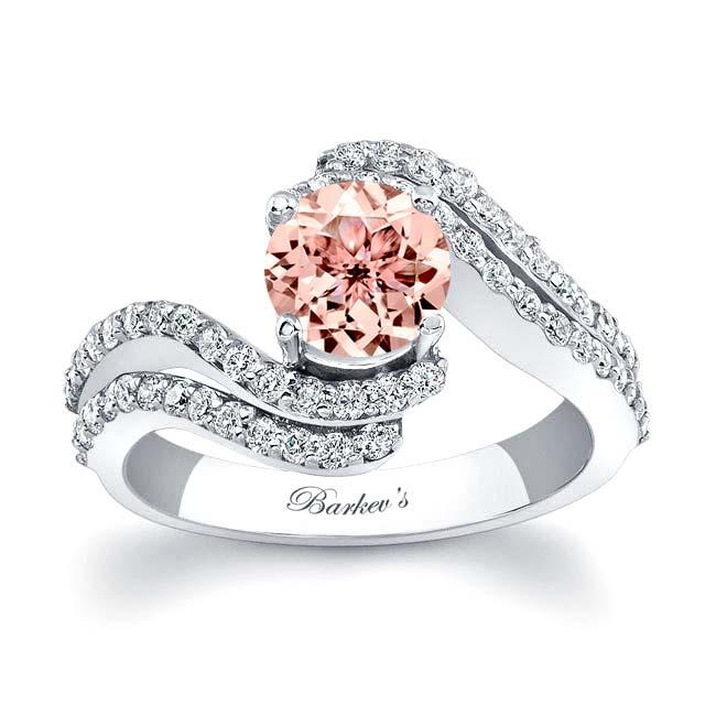 Morganite Engagement Ring MOC-7912L