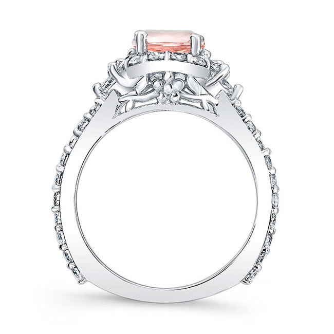 Morganite Engagement Ring MOC-7930L Image 2