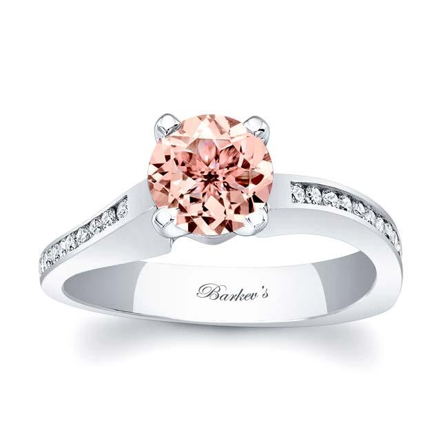Morganite Engagement Ring MOC-7931L