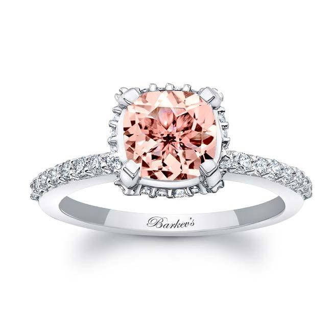 Morganite Engagement Ring MOC-8159L