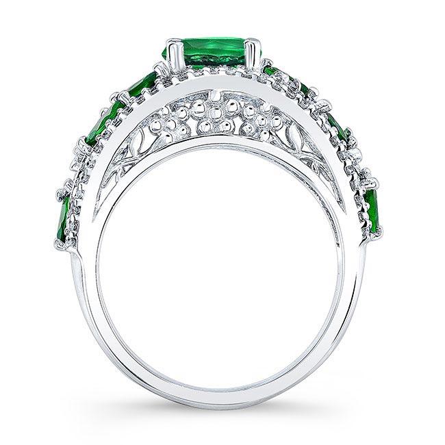 Tsavorite Engagement Ring TC-7984LTSV Image 2