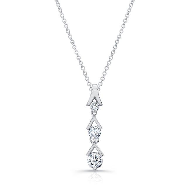 Diamond Drop Necklace 6453N