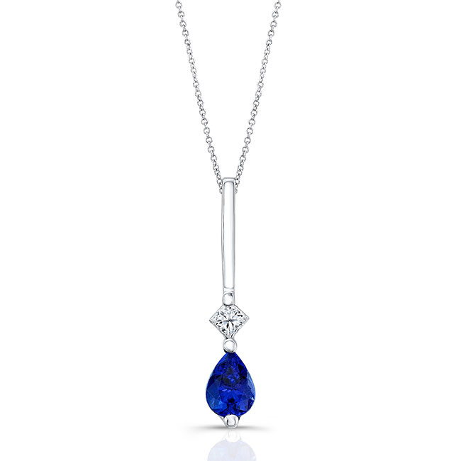 Tanzanite & Diamond Necklace 6844N
