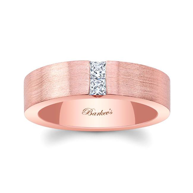 Princess Cut Diamond Wedding Band 4856G