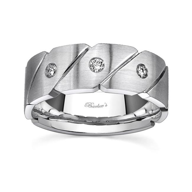 Diamond Wedding Band 8039G Image 1