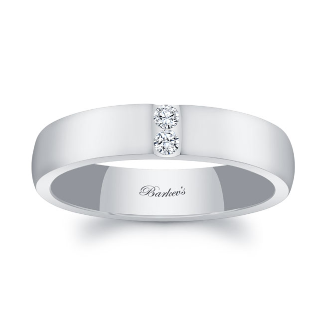 Diamond Wedding Band 8105G_5MM