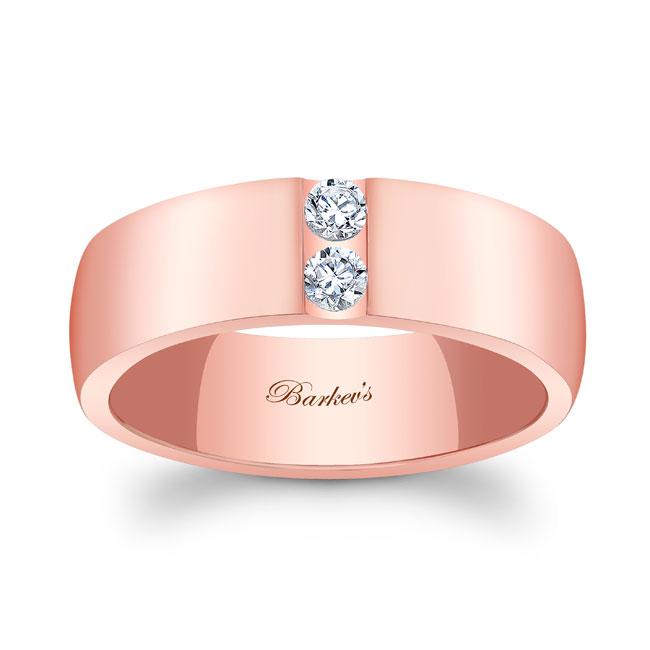 Diamond Wedding Band 8105G_7MM