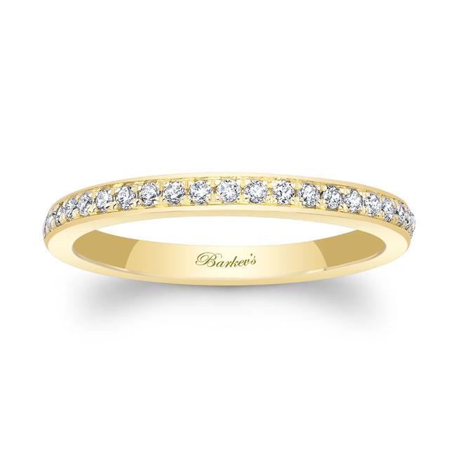 Domed Diamond Wedding Band 8122W_2MM