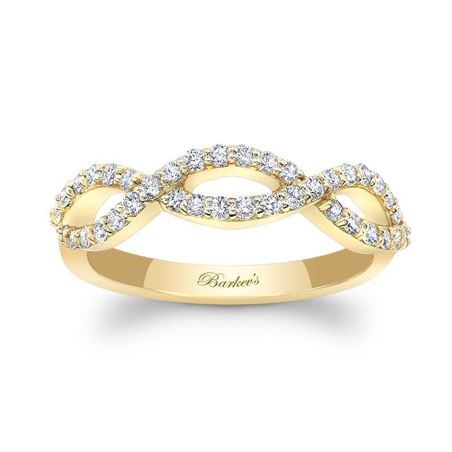White Gold Diamond Wedding Band 8206W