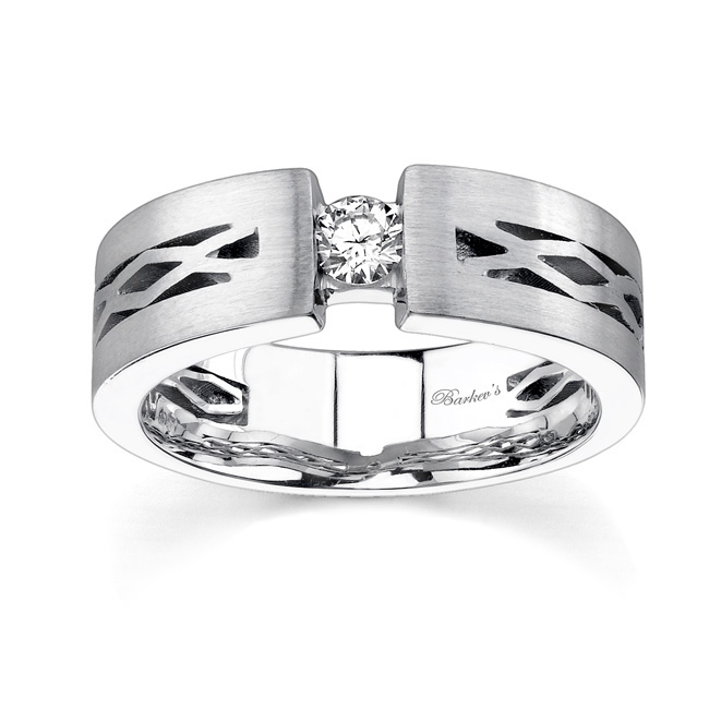 Diamond Wedding Band MP1752G